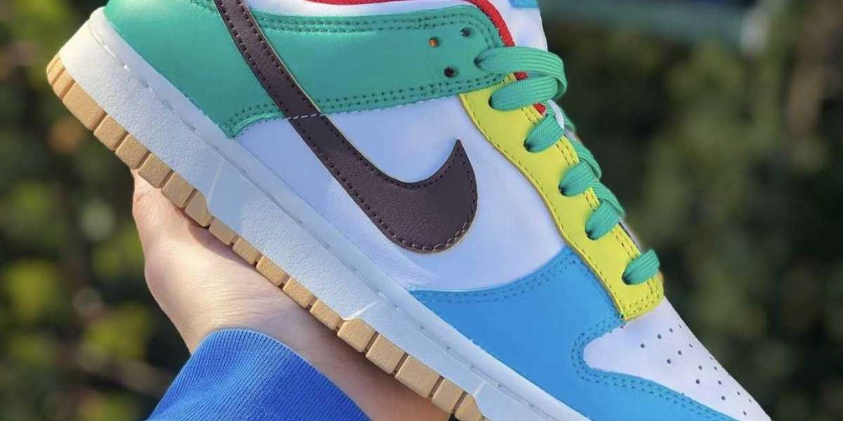 "Close glance The Nike Dunk Low ""Free 99"" DH0952-100"