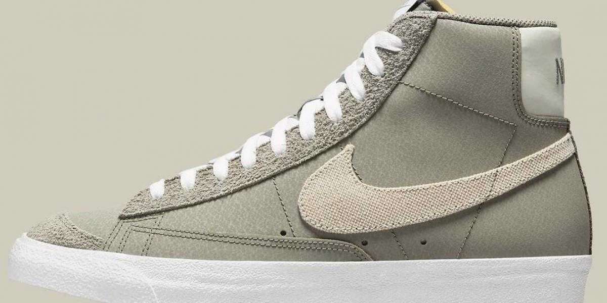 Latest Nike Blazer Mid '77 Get Tactical With Canvas Swooshes