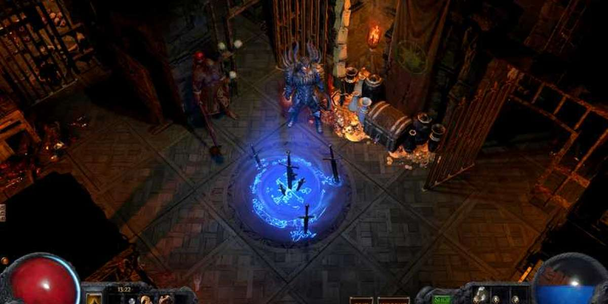 Path of Exile Expedition allows you to blow loot from the ground